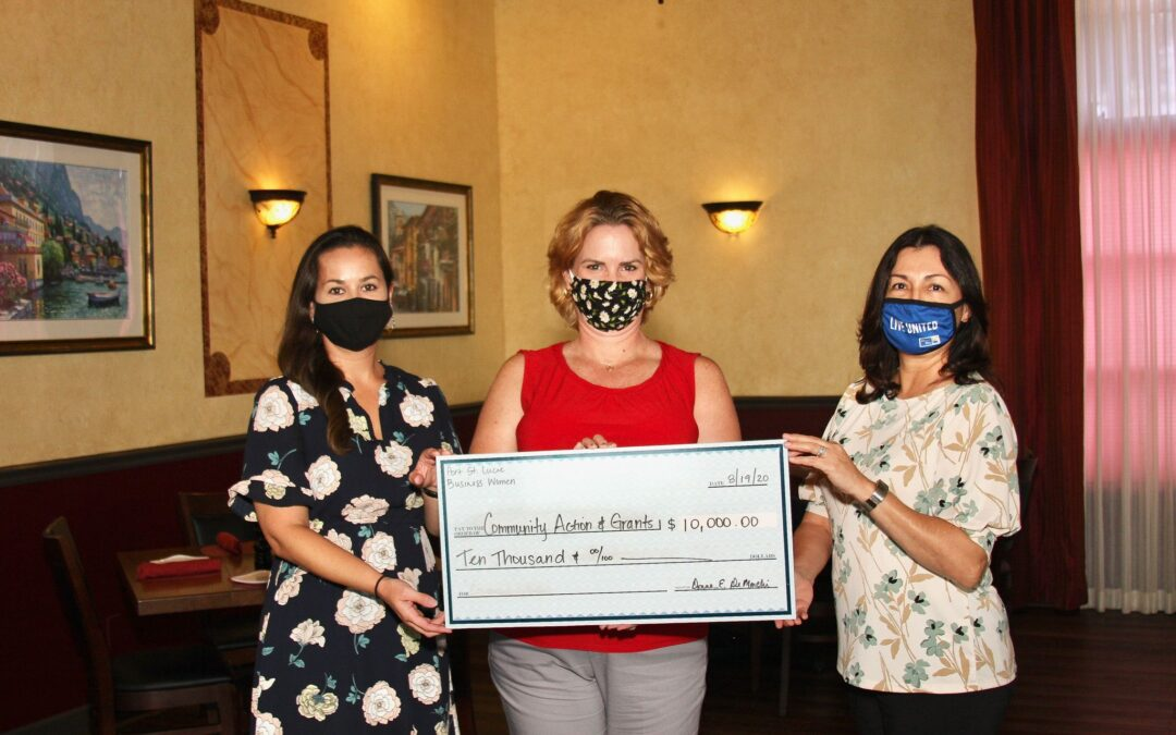 Port St. Lucie Business Women Award General Operating Support Grants To Local Non-profits